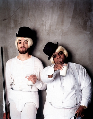 Pop goes the Atliens: Gnarls Barkley