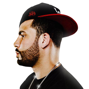 Hip-hop martyr: DJ Drama. Photo by Zach Wolfe.