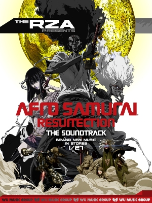 ... the return of Adult Swim fave Afro Samurai with a new soundtrack.