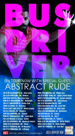 Busdriver tour flyer