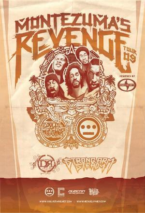 Souls of Mischief tour flyer