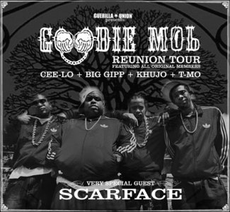 goodie mob tour flyer